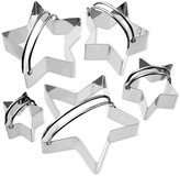 Williams-Sonoma Williams Sonoma Stainless-Steel Star Biscuit 5-Piece Cookie Cutter Set