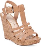 Jessica Simpson Jenaa Wedge Sandals