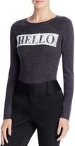 Alice + Olivia Ric Hello Goodbye Merino-Wool Sweater