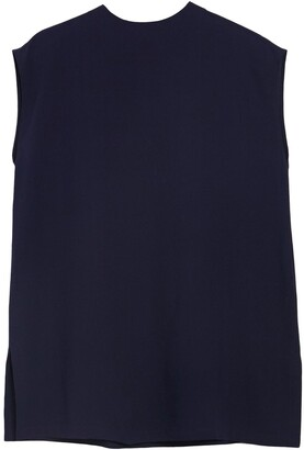 Eileen Fisher Keyhole Front Silk Tunic