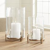 Crate & Barrel Ezra Hurricane Candle Holder
