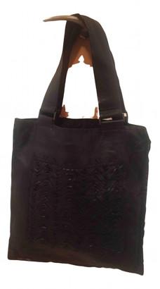 Adolfo Dominguez Black Leather Handbags
