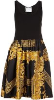 Moschino baroque frame dress - women - Rayon/Virgin Wool - 40