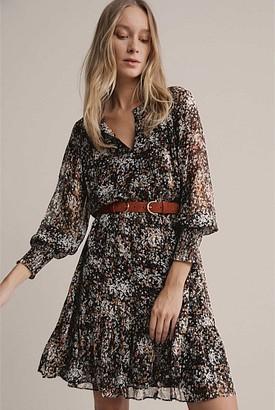 Witchery Lurex Floral Dress