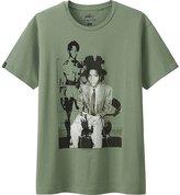 Uniqlo Men Sprz Ny Basquiat Short Sleeve Graphic T-Shirt