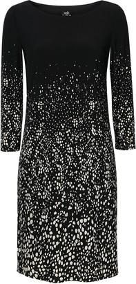Wallis Monochrome Polka Dot Shift Dress