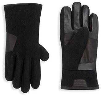 UGG Smart Mixed-Media Gloves