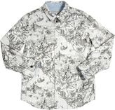 Paul Smith City Printed Oxford Cotton Shirt