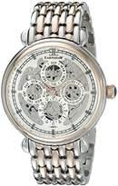 Thomas Earnshaw Men's ES-8043-55 Grand Calendar Analog Display Automatic Self Wind Two Tone Watch