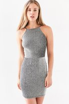 Oh My Love Alanis Metallic Bodycon Mini Dress