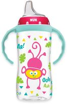 NUK 10 oz. Jungle Designs Large Learner Cup in Pink/Blue