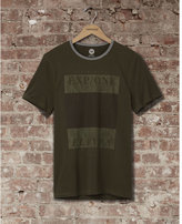 Express one eleven square graphic t-shirt