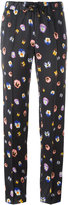 Christopher Kane pansy print trousers