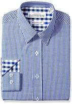 Nick Graham Everywhere Men's Multi Gingham Dress Shirt
