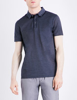 HUGO BOSS Slim-fit mercerised-cotton polo shirt