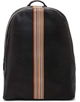 Paul Smith Multistripe Group Leather Backpack