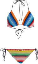 Missoni Striped Bikini Set with Ties