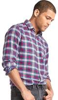 Gap Classic plaid flannel shirt