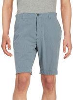 Black Brown 1826 Striped Shorts