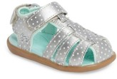 See Kai Run Toddler Girl's Paley Water Friendly Fisherman Sandal