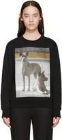 Palm Angels Black Dogs Sweatshirt