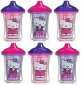 Munchkin Hello Kitty Click Lock Insulated 9 Ounce Sippy Cup - 6 Pack
