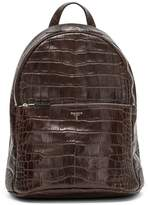 Serapian Embossed Leather Backpack