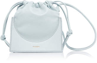 Yuzefi Pouchy Leather Bucket Bag