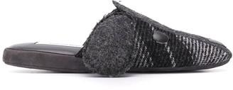 Thom Browne slip-on Hector slippers