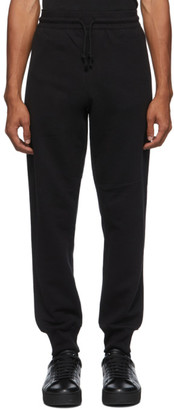 Dries Van Noten Black Zip Pockets Lounge Pants