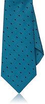 Kiton Men's Polka Dot Silk Necktie