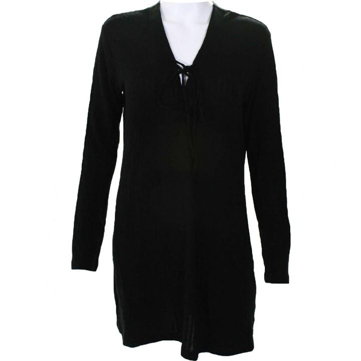 Reformation Black Wool Dresses