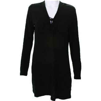 Reformation Black Wool Dresses