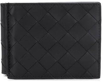 Bottega Veneta Intrecciato money-clip wallet