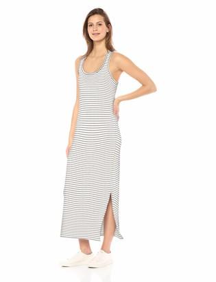 Daily Ritual Amazon Brand Women's Supersoft Terry Racerback Maxi Dress