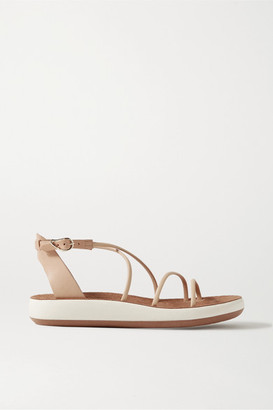 Ancient Greek Sandals Anastasia Leather Sandals - Beige