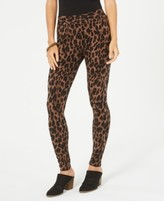 Style&Co. Style & Co Animal-Print Pull-On Leggings, Created for Macy's