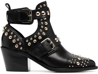 Kurt Geiger Buckle Studded Boots