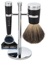 Gentleman London NEW Davies Black Razor & Shaving Brush Stand