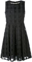 Blugirl jacquard check dress - women - Cotton/Polyester - 38