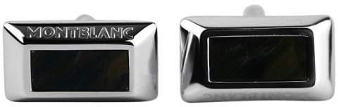 Montblanc Sterling Silver Falcon Eye Cufflinks