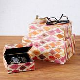 west elm Neo Geo Decoupage Jewelry Boxes