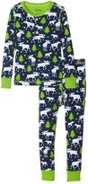 Hatley Moose & Stars Pajama Set (Toddler/Little Kids/Big Kids)