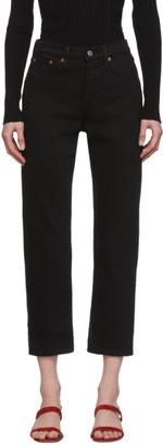 Levi's Levis Black Wedgie Straight Jeans