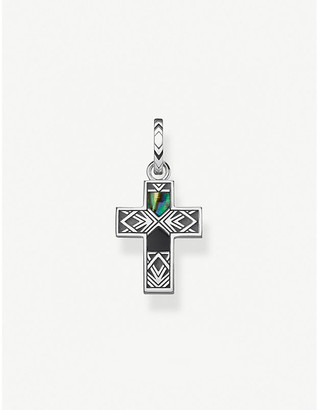 Thomas Sabo Arizona Colours cross sterling silver pendant