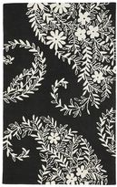 PBteen Tufted Paisley Rug, Black