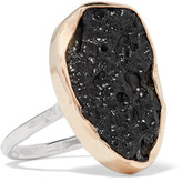 Melissa Joy Manning 14-Karat Gold, Sterling Silver And Stone Ring