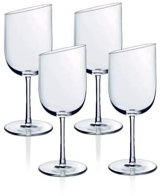 Villeroy & Boch New Moon White Wine Glasses, Set of 4