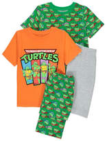 George Teenage Mutant Ninja Turtles Pyjamas 2 Pack