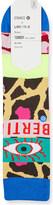 Stance x Libertine magic eye cotton socks